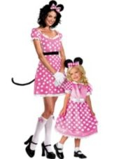 Minnie Mouse Mommy and Me Costumes- Party City AHAHAHAHA here you go, Sharayah!
