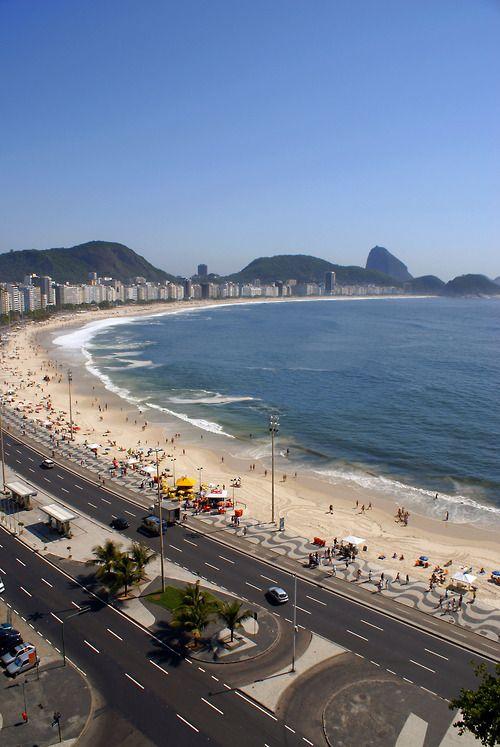 Copacabana Beach - Rio De Janeiro, Brazil.   by Ricardo Zerrenner   Riotur on…