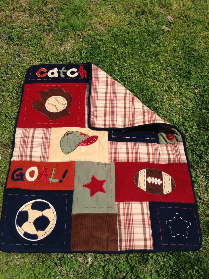17 Best images about Sports Theme Crib Bedding on ...