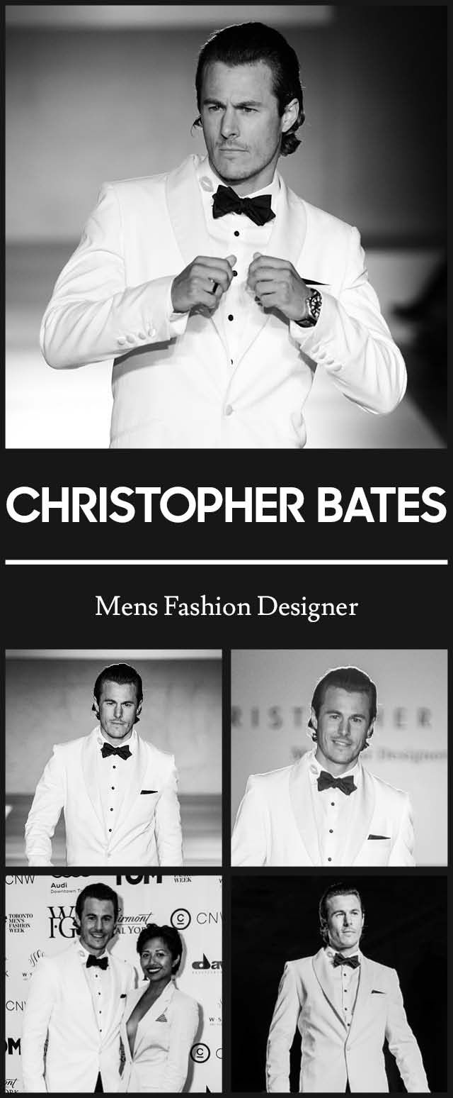 Christopher Bates at TOM* Toronto Men's Fashion Week SS15 MENSFASHION4HOPE Celebrity Charity Fashion Show to benefit The Kole Hope Foundation for children. #ILOVETOM #IAMTOM #LOVECANADIANFASHION http://WWW.TOMFW.COM