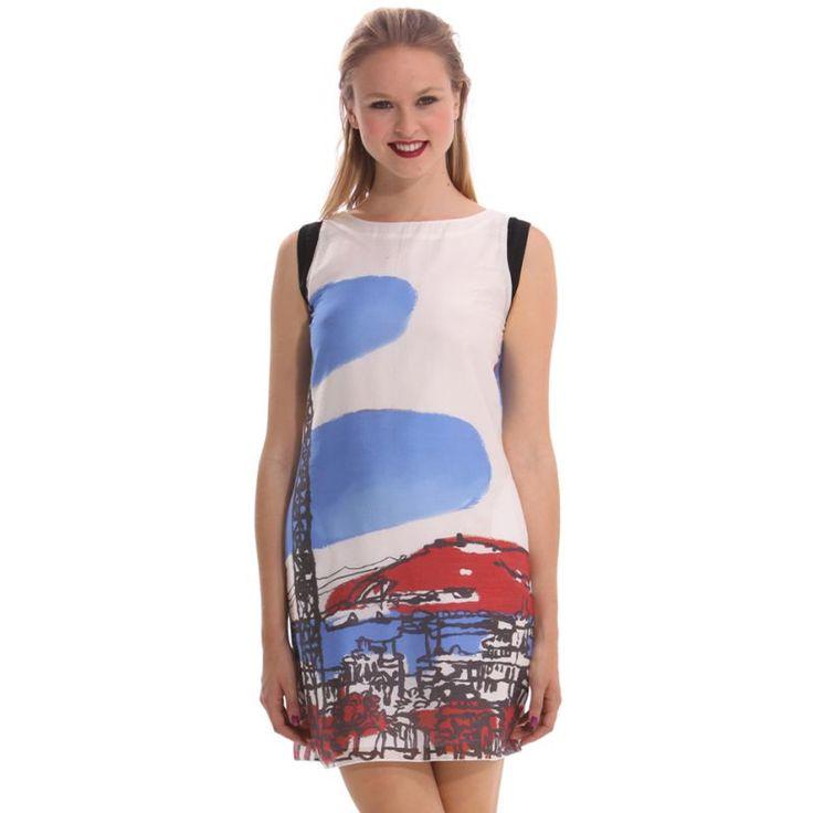 Vestido primavera-verano Desigual 2014  99€ -15% 84,15€  #Spring #elplanetadelasmarcas.es #welovefashion #vestido #dress #casualstyle #desigual #wov15