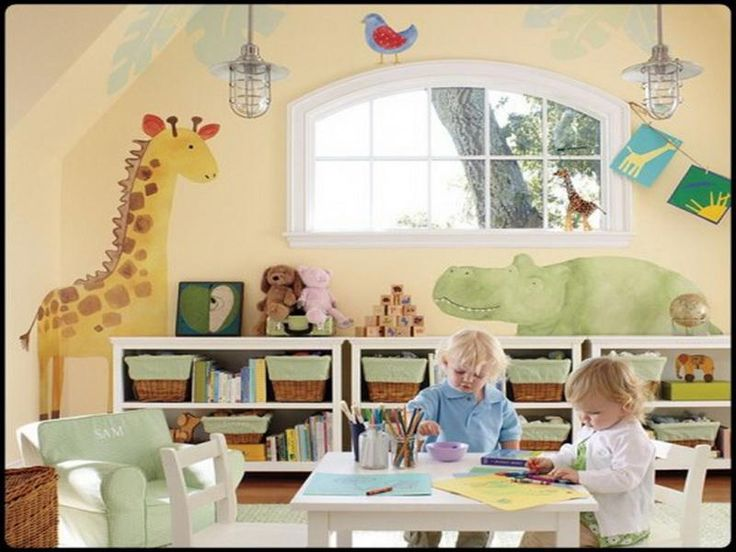 Interesting Kids Playroom Paint Ideas Colors On Pinterest Blue