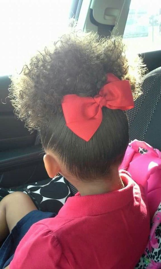 Simple Curly Mixed Race Hairstyles For Biracial Girls