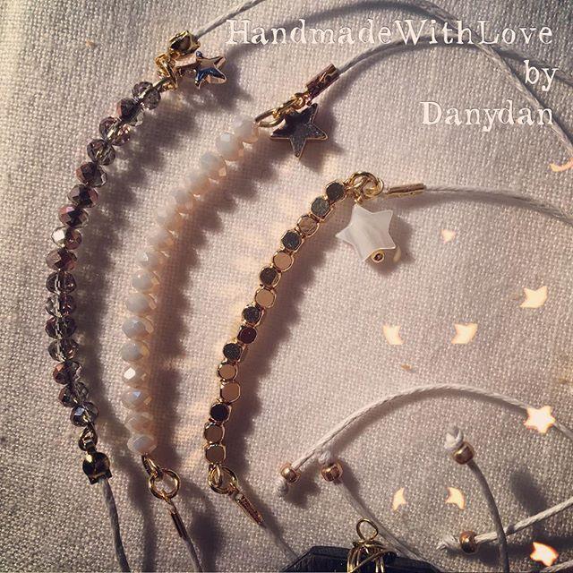 I'm back!!! Nuove ispirazioni e minuscoli dettagli in oro 24k#danydan #danydan67 #handmadejewelry #handmadewithlove #brecelet #stars #gold24k