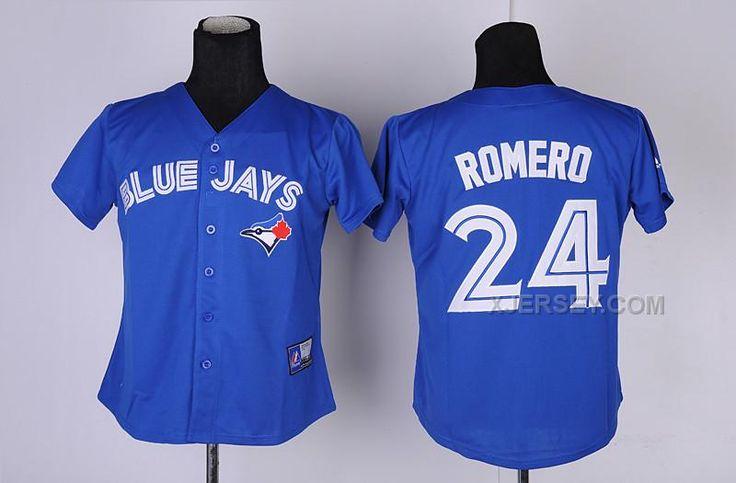http://www.xjersey.com/blue-jays-24-romero-blue-women-jersey.html BLUE JAYS 24 ROMERO BLUE WOMEN JERSEY Only $35.00 , Free Shipping!