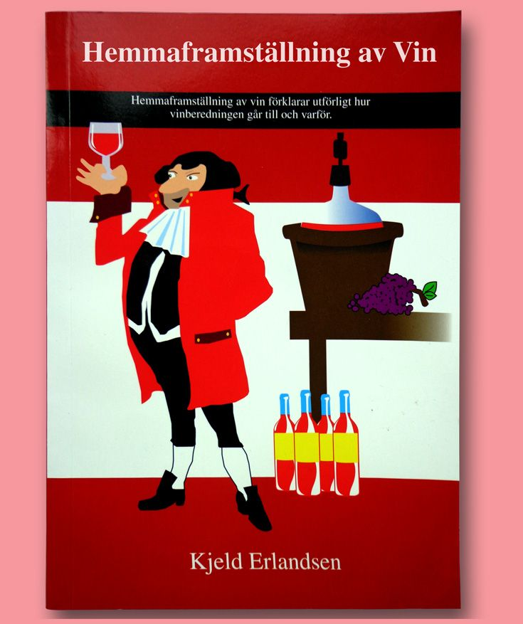 Hemmaframställning av vin förklarar utförligt hur vinberedningen går till och varför. Hemmaframställningen av vin har under de senaste 10 åren genomgått en omfattande utveckling med bl a bättre jäsningsteknik och mindre risk för fel. I vinboken berättas o