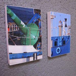 Colle Chic créations : Mini tableaux, artiste Gwen