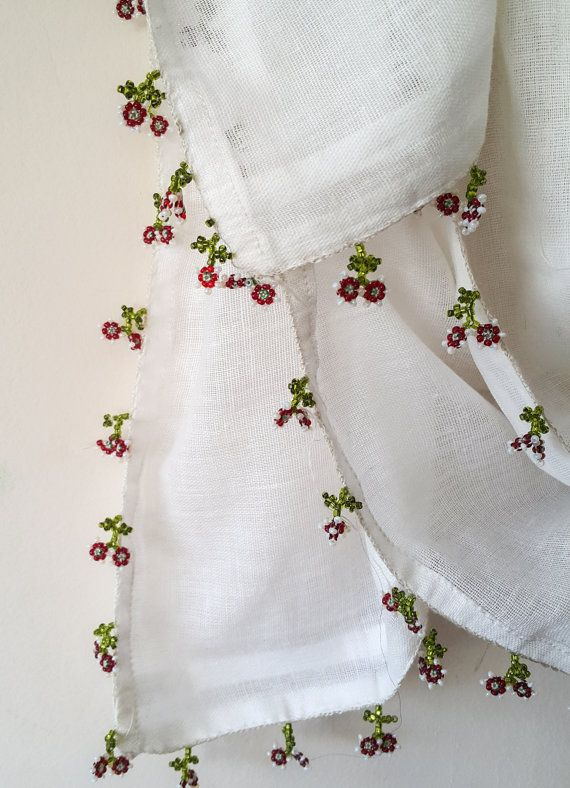 Check out this item in my Etsy shop https://www.etsy.com/listing/288924499/turkish-scarf-cheesecloth-floral-beaded