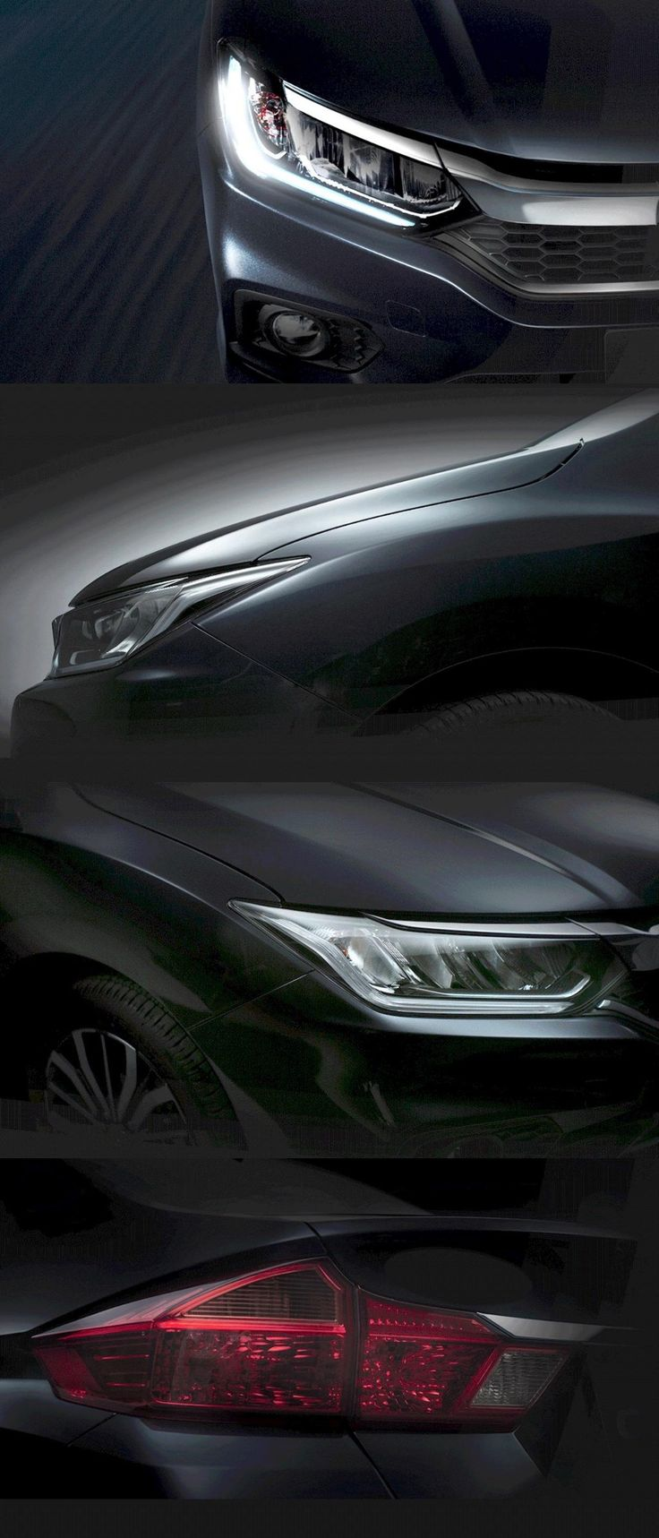 Facelift Honda City Teasers Released Prior to Launch in January 2017