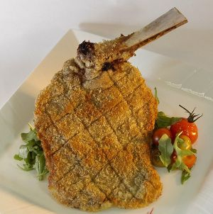 Fried Veal Chops Recipe