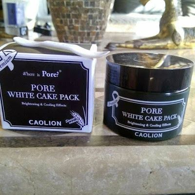 Adventures of Luzzie : REVIEW : CAOLION PORE WHITE CAKE PACK