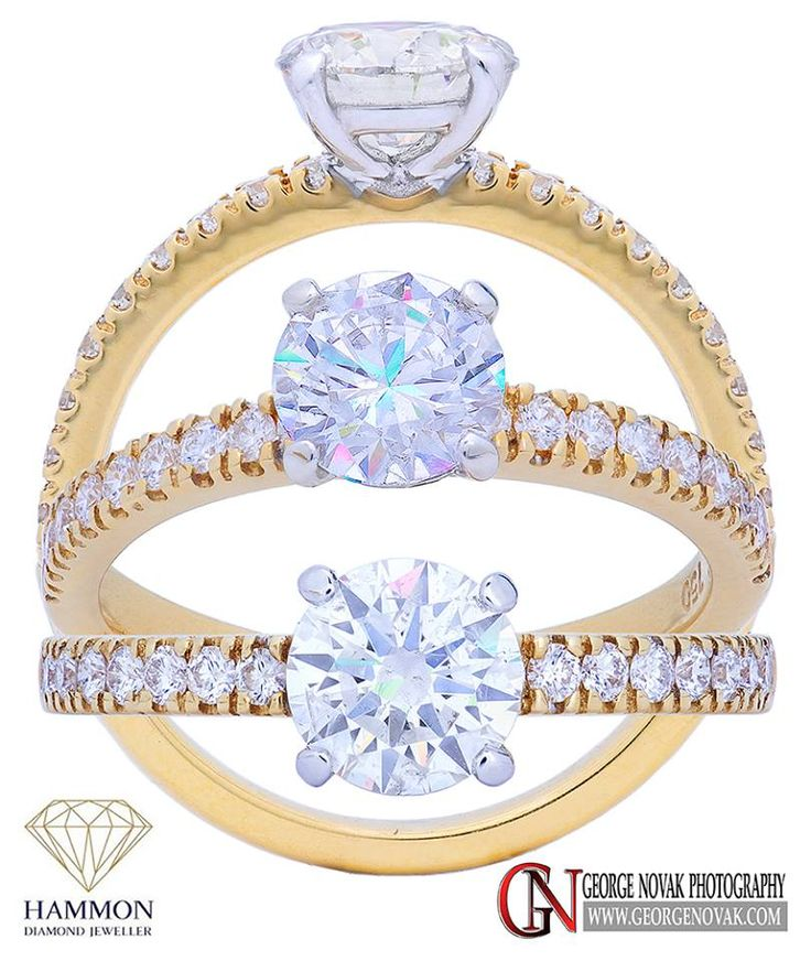 A 1.00 carat centre diamond engagement ring.