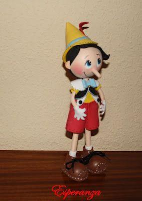 Fofuchas y otras manualidades: Pinocho
