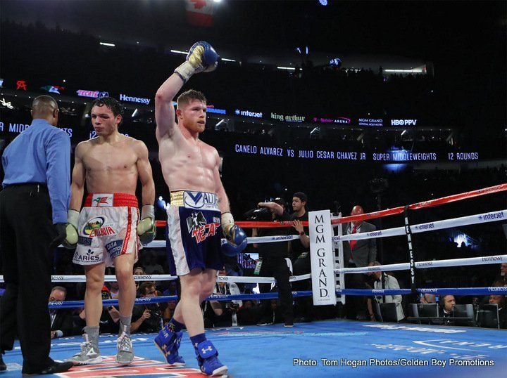 Canelo beats up Chavez Jr – Results - Boxing News