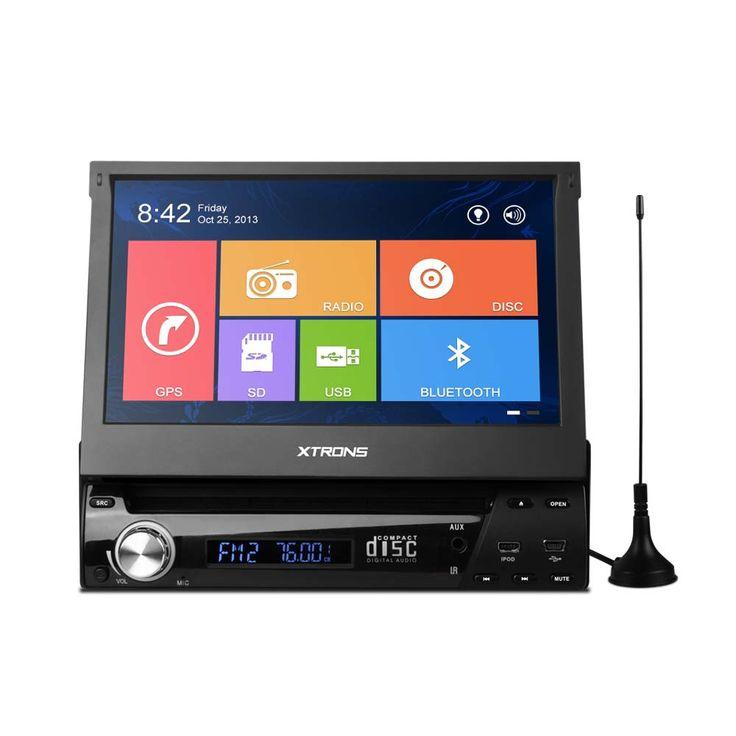 """¡¡Buenas tardes amig@s!! Hoy en carmultimediazone.com destacamos nuestra #Radio #DVD 1#Din #Xtrons #LCD #Táctil #HD 7"""" #GPS #BLUETOOTH y #TDT a un precio irresistible!! Estas son algunas de sus características: - Windows CE 6.0 - Menús estilo Windows 8 - #GPS con mapas incluidos en una tarjeta SD - Sintonizador TDT - Tamaño 1Din Universal - Radio AM/FM (con RDS) - LCD 7"""" táctil HD 800*480 - Pantalla motorizada ajustable en 4 posiciones - Panel frontal extraíble"""