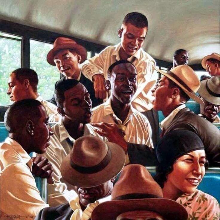 """""""The Bus"""", by Kadir Nelson"""
