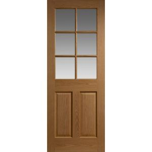 Interior Wooden Doors With Glass Panels