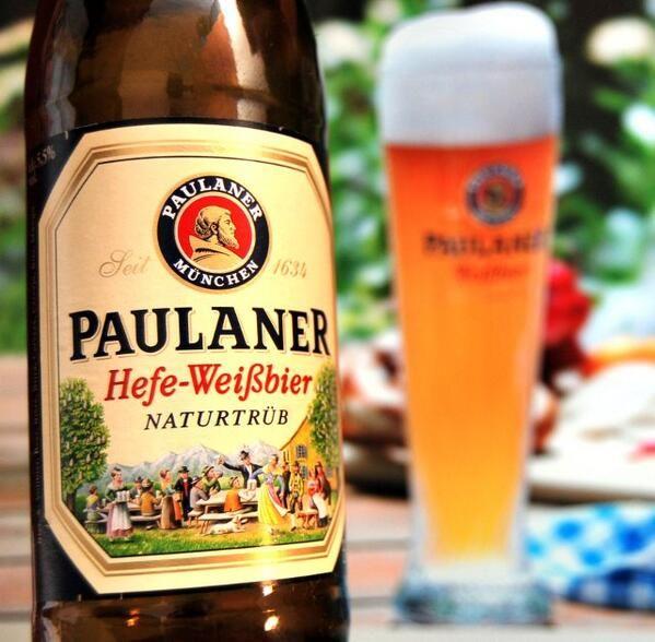 Paulaner Hefe Weissbier! #1 cerveza de trigo. contamos con venta directa dsd 3 botellas en adelante!
