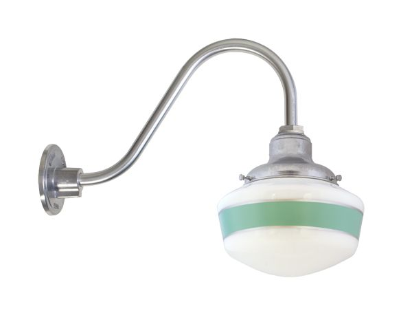 kitchen sink lighting secondary schoolhouse gooseneck light small