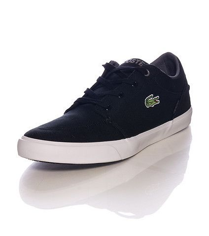 LACOSTE Low top men's sneaker Lace up closure Cushioned inner sole Logo on  side