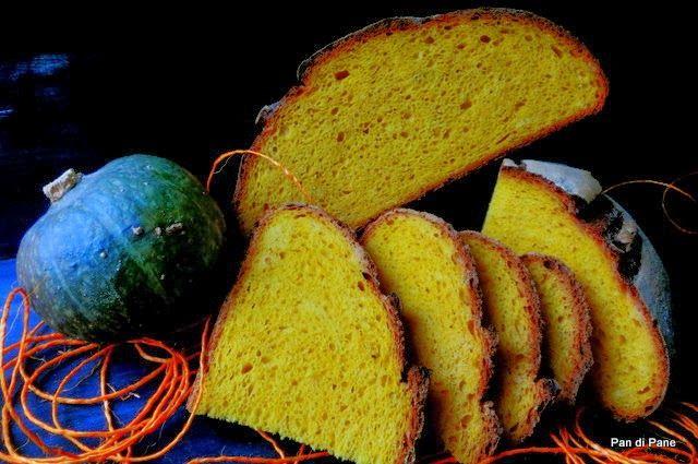 Pan di Pane: Ricetta Pane alla zucca con Pasta Madre.