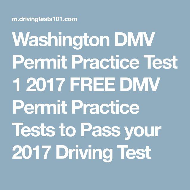 Washington DMV Permit Practice Test 1 2017 FREE DMV Permit Practice Tests to Pass your 2017 Driving Test