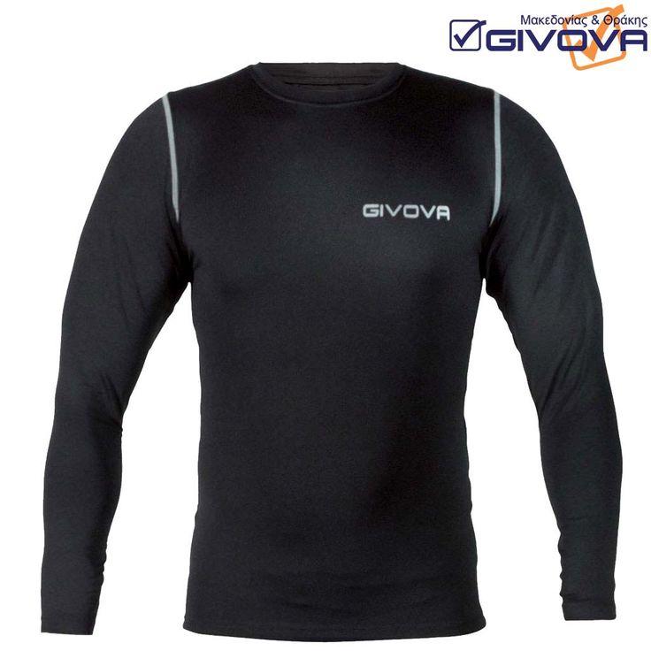 Corpus 3 Μακρυμάνικο εσώρουχο-μπλουζάκι από συνθετικές ελαστικές ίνες και πολυεστέρα με τυπωμένο λογότυπο, ανάλογο της απαιτούμενης ελαστικότητας. Εξασφαλίζεται η καλύτερη δυνατή ελαστικότητα και η ελευθερία κίνησης