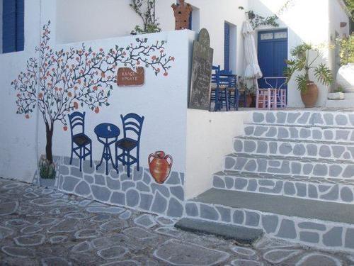 A nook at Kimolos island, Greece