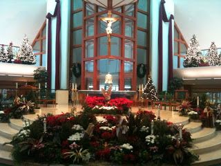 In her parish's beautiful Christmas scene, Deanna Bartalini is reminded of the ongoing journey from manger to Cross.