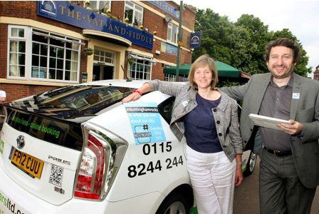 Lilian Greenwood MP & Tony Bates on trending day...
