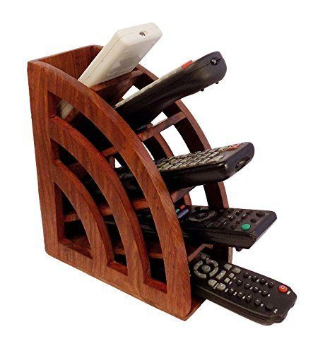 #FeedtheChildren Keep all your remote controls organized and easy to find with this convenient storage rack. Thanks to the 5 slots arranged in a convenient Flor...