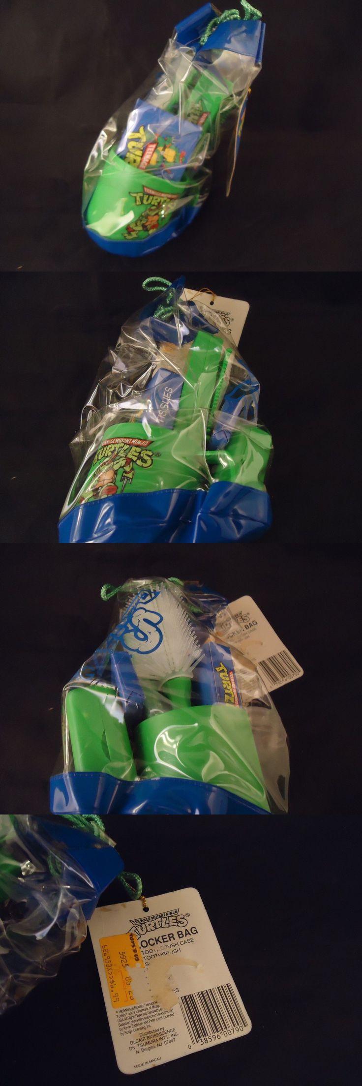 Bath 115624: Retro Teenage Mutant Ninja Turtles Locker Bag Bath Kit Tmnt Brush Soap Cup New -> BUY IT NOW ONLY: $34.99 on eBay!