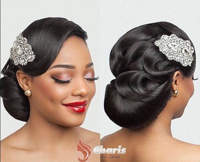 50 Wedding Hairstyles For Nigerian Brides And Black: 1011 Best Black Beauty Images On Pinterest