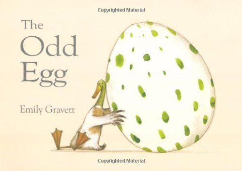 The Odd Egg by Emily Gravett, http://www.amazon.co.uk/dp/0230531350/ref=cm_sw_r_pi_dp_k24ytb0CDB5HT