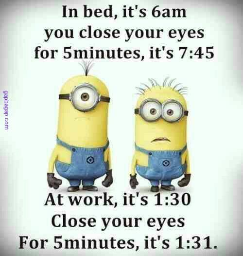 Funny #Minions Joke About Work