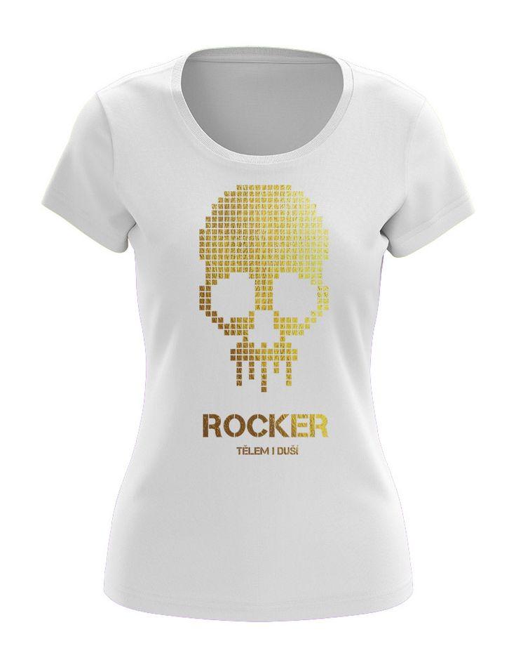 Women's T-shirt, SKULL, dámské tričko, LEBKA