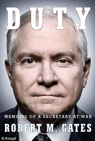 Hillary Clinton and Obama admitted they opposed Iraq troop surge only to look good politically, claims former defense secretary Robert Gates...
