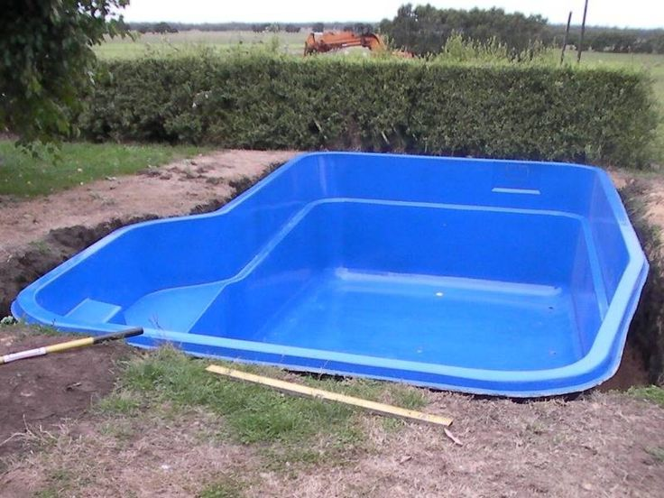 Inground swimming pool designs quality small for Pool plastik