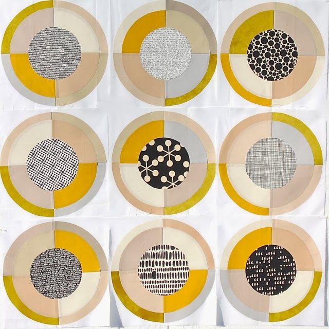 Quilt Collection M.: Ein Kurs bei Brigitte Heitland - Ein Traum wird wahr