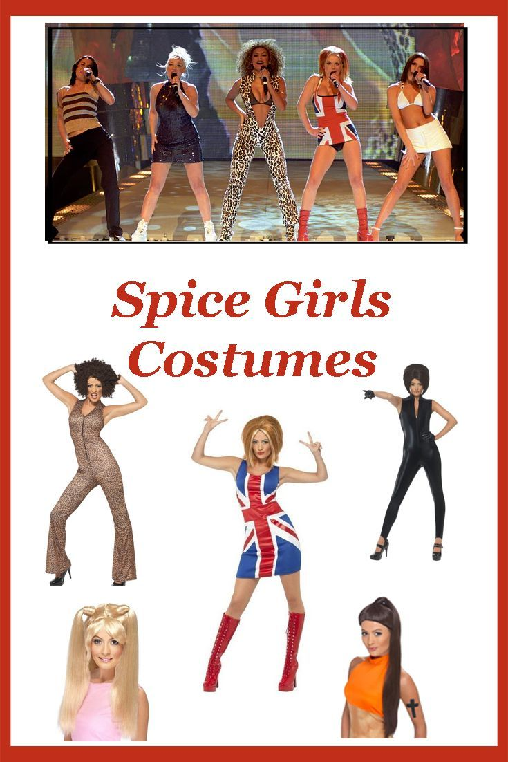 Spice Girls Costumes