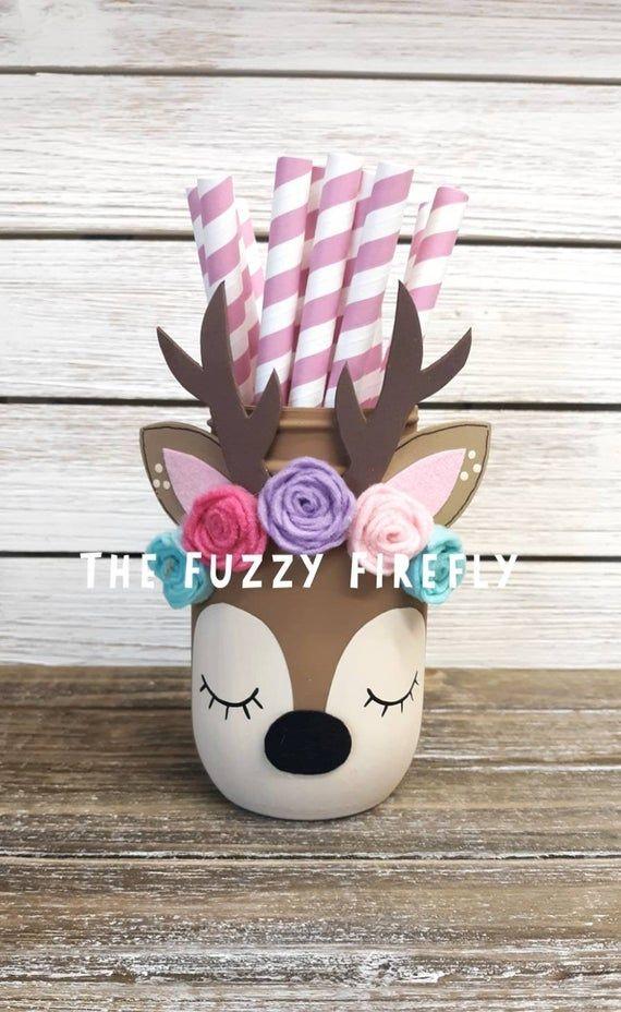 Original Baby Deer Animal Centerpiece,Woodland Fox Party Decor,Deer Baby Shower,Bohemian Birthday,Woodland Animal,Desk Decor,bohemian party
