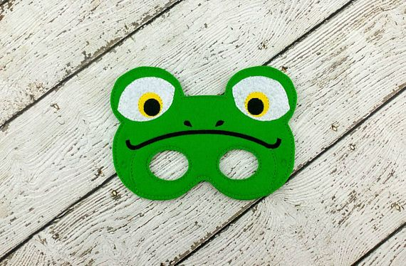 Check out this item in my Etsy shop https://www.etsy.com/listing/521878127/frog-mask-frog-party-favor-dress-up