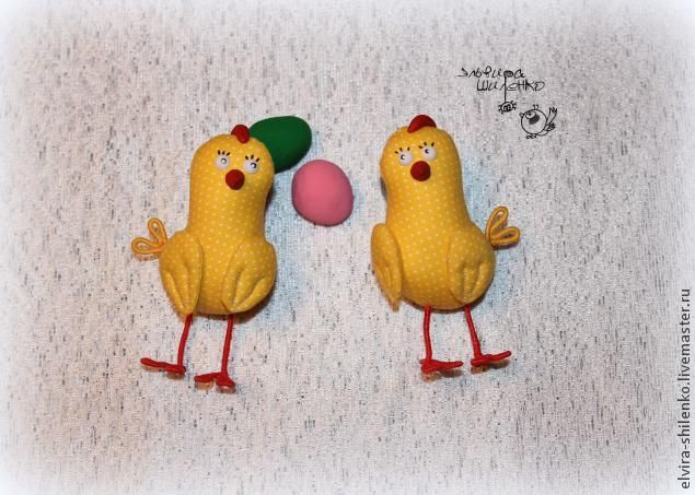 Пасхальная курочка с цыплятами - Ярмарка Мастеров - ручная работа, handmade