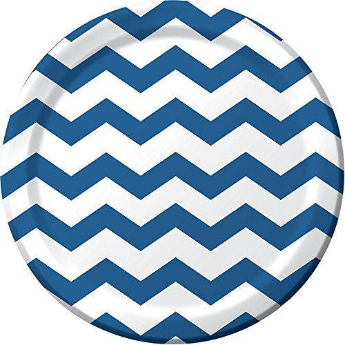 Navy Blue Chevron Paper Plates and Napkins on Flipboard  sc 1 st  Pinterest : navy paper plates - Pezcame.Com