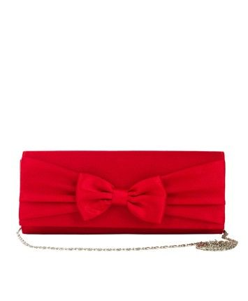 Red Bow Clutch #ohnineone