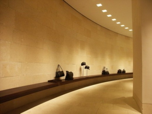 Giorgio armani by claudio silvestrin interior design for Giorgio aldo interior designs