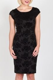 Simone Cap Sleeve Dress with Back Detail. Exclusive to Plum stores!