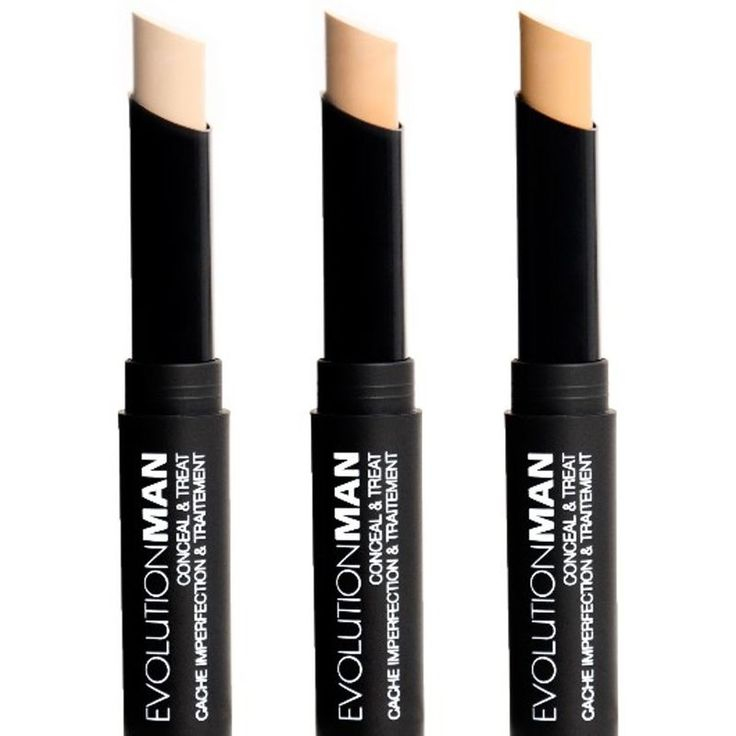 Men's Concealer Sticks - This Concealer for Men by EvolutionMan is Also an Acne Treatment.