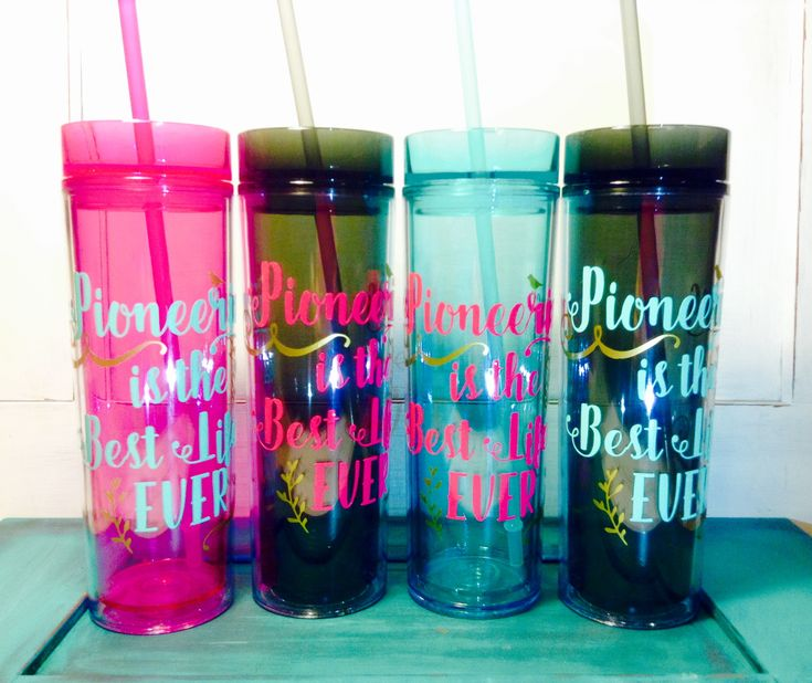 Adorable Pioneer gifts! These are in the mug and tumbler section of our shop at happiertogive.com #JW #pioneer #JWpioneergifts #tumbler #JWpioneertumbler #happiertogive