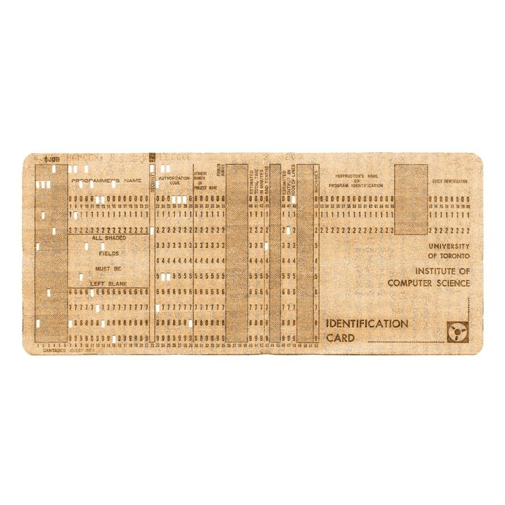 @AJSmithArt http://smithon.ca/shop #UofT a #Computer Punch Card that is one of many to calculate the coordinates of corners of 100 + #Polygons #SMITHONDay #SMITHONDay2015  #Canada #IGArtists #Artist #Canada #ART #Retro #HighTech #HighTechArt #WRArts #TOArts #onlineartsales - Andrew James Smith